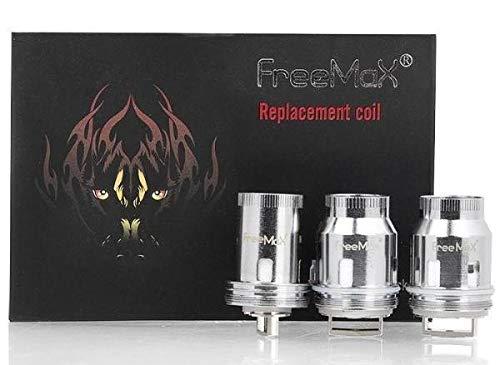 Original Freemax Mesh Pro Fireluke Ersatz-Zerstäuber Spule replacement coil - 3 Stück (Quad Mesh 0.15ohm Coil (80-120W) 1 Packung)