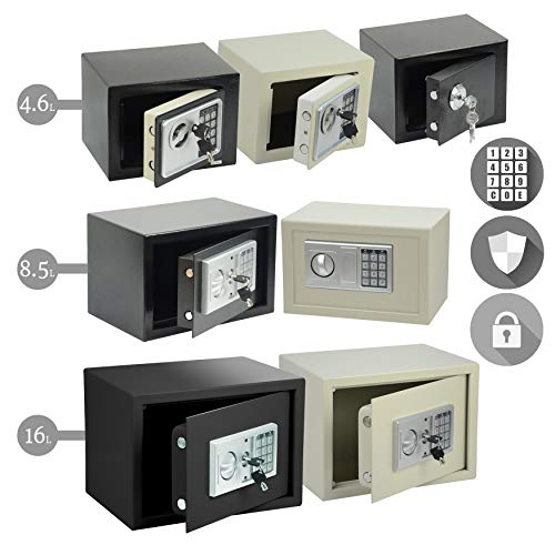 Heavy Duty Steel Digital Electronic Security Safe Home Office Money Safety...