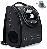 U/D Portable Travel Pet Backpack,Carrier Cat Bubbles Pet Backpack,Waterproof Handbag,Backpack Airline Approved for Small Dogs and Cats (??)