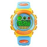 Reloj de pulsera digital para niños y niñas, cronómetro,...