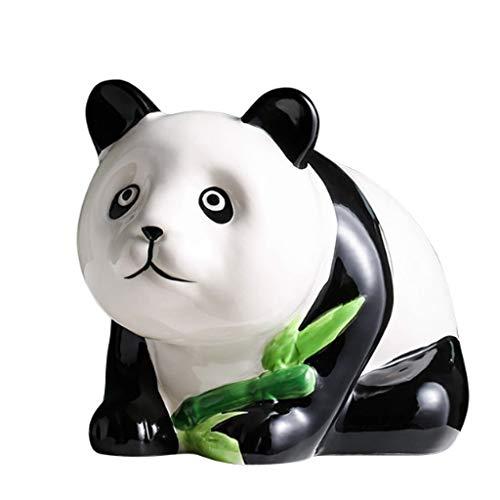Hucha Oso de Panda de cerámica Hucha Moneda de Ahorro de Dinero de Banco de la Caja for el Regalo de los niños en la Navidad, cumpleaños y Año Nuevo Money Bank Alcancías (Color : B)
