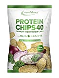 IronMaxx Protein Chips 40 - low carb, glutenfrei, fettarm und zuckerreduziert - Sour Cream & Onion...
