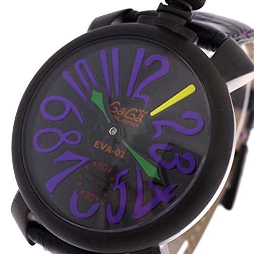 ガガミラノ GAGA MILANO 腕時計 5012-EVA エヴァンゲリオン EVANGELION ブラック【メンズ】