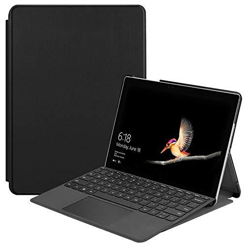 Hülle für Microsoft Surface Go 2-in-1 Tablet 10 Zoll (25,4 cm) Smart Cover Etui mit Auto Sleep/Wake Funktion Schwarz