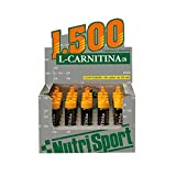 Nutrisport L-Carnitina 1500 20 viales x 25 ml - Naranja