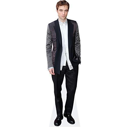 Celebrity Cutouts Robert Pattinson (Grey Blazer) Pappaufsteller Mini
