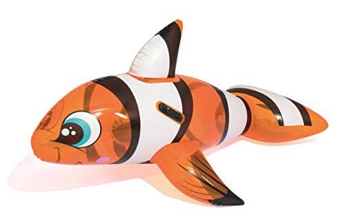 Bestway Schwimmtier Clownfisch, ab 3 Jahren, 157 x 94 cm