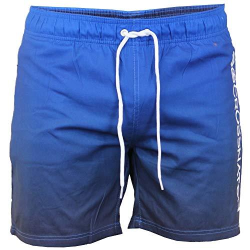 Crosshatch Mens Designer Norlane Badehose Shorts Kühlen Meer Large