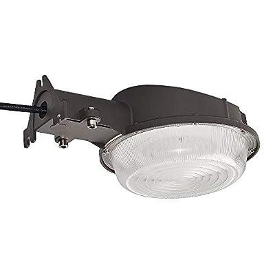 KCCCT Area Light Dusk to Dawn Photocell Included Perfect Yard Light or Barn Light 35W 4500 Lumens, 5000K UL and DLC Security Flood Lighting 5-Year Warranty