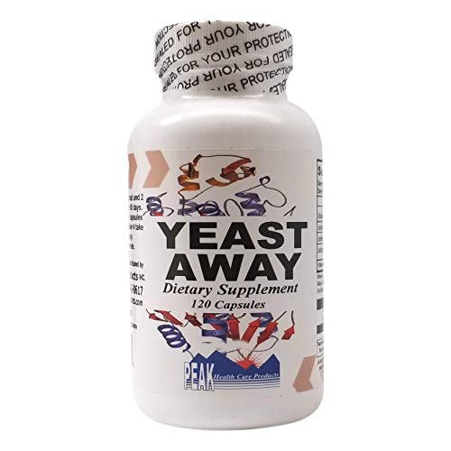 Yeast Management Formula - Yeast Support - Yeast Away - 120 Capsules