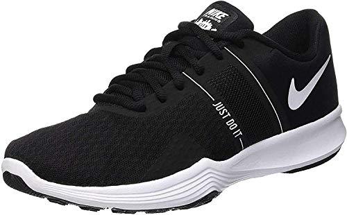Nike City Trainer 2, Scarpe da Training Donna, Nero (Nero/Bianco), 38.5 EU