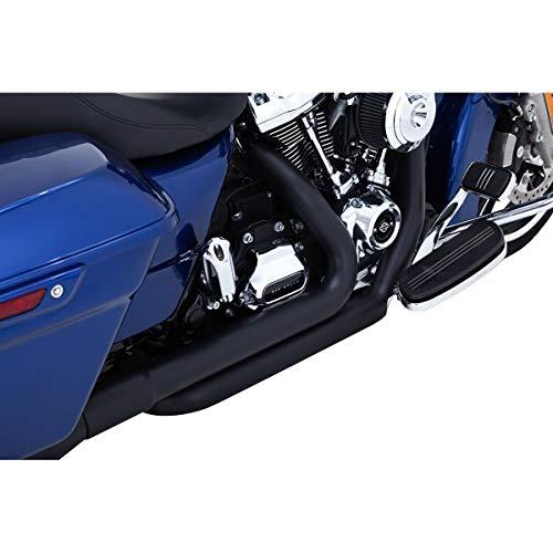 Vance & Hines Dresser Duals Headpipe System (Black) for 17-19 Harley FLHX2
