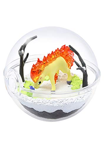 Unbekannt Pokemon Pokeball Terrarium Figure Collection Part 5~ 077 Ponyta Ponita