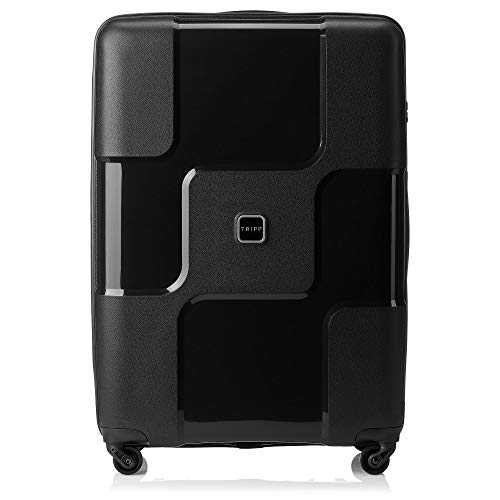 Tripp Black II World 4 Wheel Large Suitcase