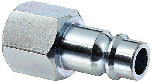 "Milton S-761-1 1/4"" FNPT V Style High Flow Steel Plug - Pack of 2"
