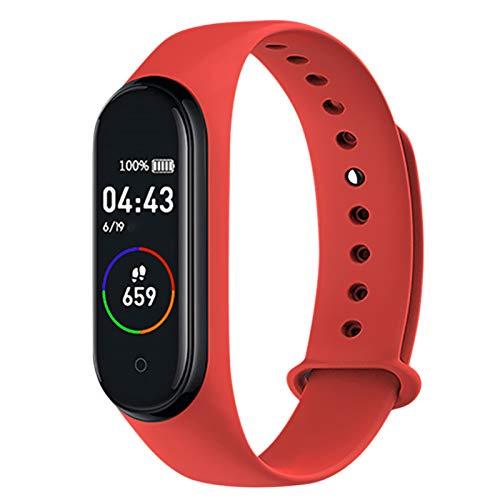 Festnight Smart Watch Schermo a Colori Sport Orologio da Polso BT Impermeabile Monitoraggio della della Pressione sanguigna Orologio Fitness