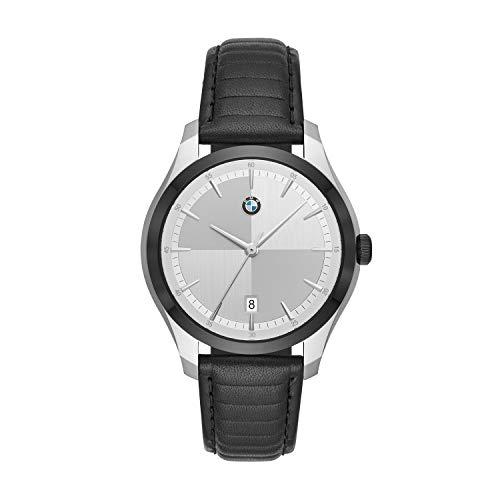 BMW Herren Analog Quarz Uhr with Leder Armband BMW5000