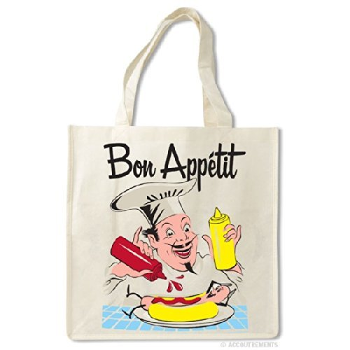 Bon Appetit Chef Shopper Tote