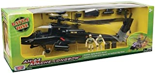 Richmond Toys Battle Zone AH-64 Apache Longbow Helicopter Playset