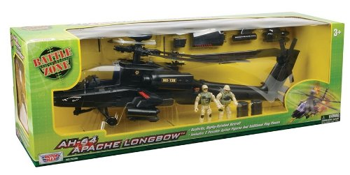 Richmond Toys AH-64 Apache Longbow - Helicóptero de Juguete
