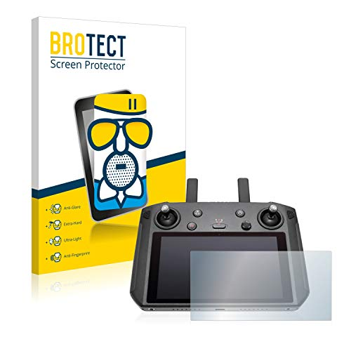 BROTECT Entspiegelungs-Panzerglasfolie kompatibel mit DJI Smart Controller - Anti-Reflex Panzerglas Schutz-Folie Matt