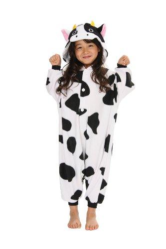 Pyjama Costume Deguisement Kigurumi La Vache qui Rit pour Enfants Importer Directement du Japon 2637 (130 cm)