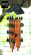 Paradigm Pictures fengshui windchimes, Living Room Window Decoration Items (Bronze 8 Bells & Pipes) (Bell & Pipes Wind Chime for Home)