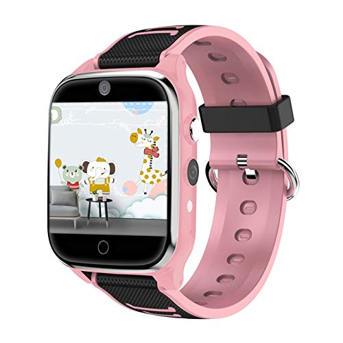 Kinder-Smartwatch, SOS, Anti-Verlust, 4G SIM-Karte, GPS, WLAN, Anrufortung, LBS Tracking Smartwatch