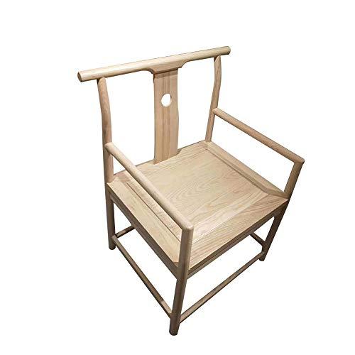 Ming Style Big Zen Chair Sillón De Madera Maciza Oficial Anillo De Silla Sillón Taishi Silla De Madera Maciza Que Se Sienta