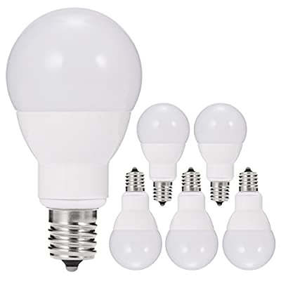JandCase LED Torpedo Lights Bulbs 6W Candelabra Light