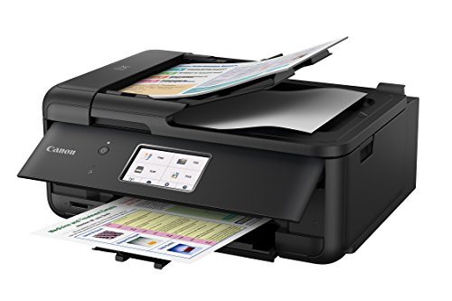 Canon PIXMA TR8520 Wireless All In One Printer   Mobile Printing   Photo and Document Printing, AirPrint(R) and Google Cloud printing, Black