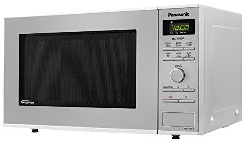 Panasonic NN-SD27HSBPQ Solo Inverter Microwave Oven, 23 Litre, 1000 W, Stainless Steel