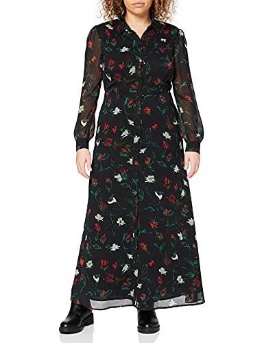 Esprit 110ee1e310 Robe, Noir, 42 Femme