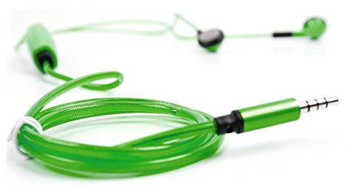 DURAGADGET Auricolari in-Ear LED Verde per