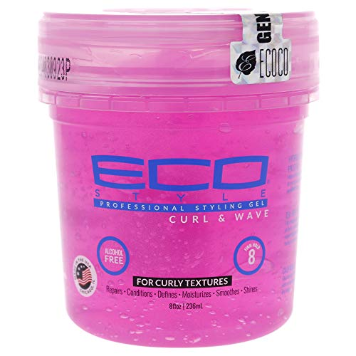 Eco Styler Curl & Wave Styling Gel Pink (8 fl. oz.) by Eco Styler