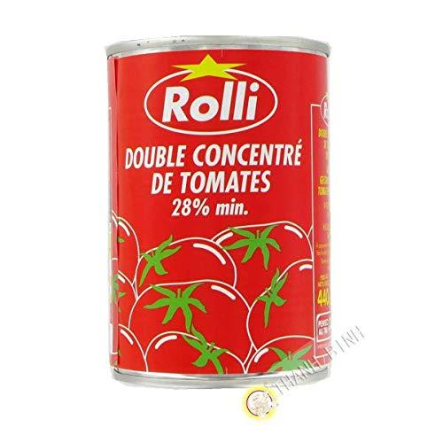 Sauce tomate concentré 440g - Pack de 6 pcs