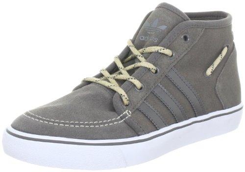 adidas Originals Court Deck Mid G60563, Herren Sportive Sneakers, Grau (IRON / IRON / WHITE), EU 40 (UK 6.5)