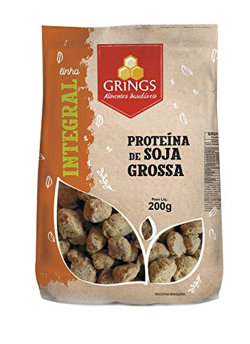 Proteína de Soja Grossa Grings 200g