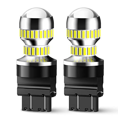 Brighter and Whiter Light and Back-Up//Reverse Lights Ideal for Daytime Running Lights SYLVANIA Contains 2 Bulbs 3057 SilverStar Mini Bulb DRL