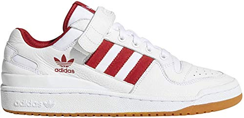Adidas Herren Forum Lo sneakers, Weiß (Ftwbla/Rojpot 000), 48 EU