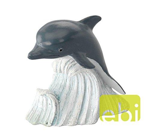 Aquarium Dekoration DELFIN 9,5 x 6 x 10cm #234-410721