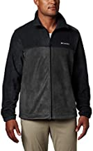 Columbia Men's Steens Mountain Full Zip 2.0, Soft Fleece with Classic Fit, Black/Grill, X-Large