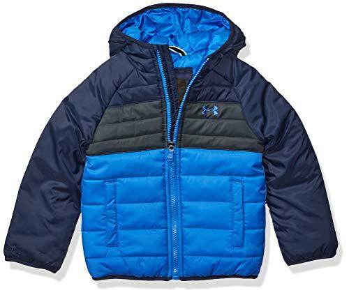 Under Armour Boys' Little Pronto Puffer Jacket, Powderkeg Blue f1, 5