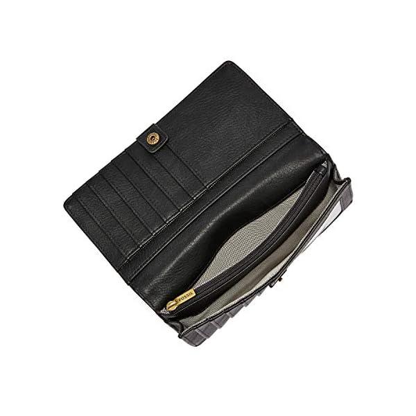 Fossil Women's Liza Leather Slim Bifold Wallet 3