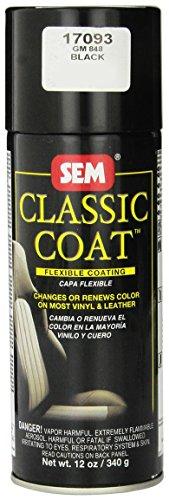 SEM 17093 Black Classic Coat - 12 oz.