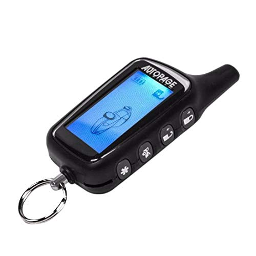 Autopage XT-43LCD 4-Button 2-Way LCD Paging Replacement Transmitter Remote 433.92MHz FCC H50TR29 H5OTR29