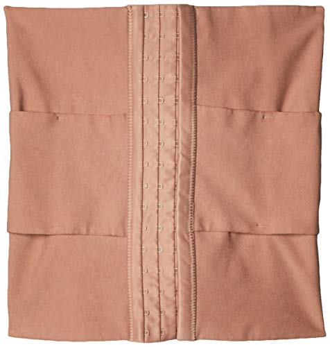 Leonisa Colombian Compression Waist Cincher and Belly Shaper for Women Brown