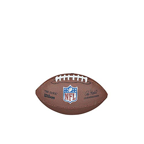 Wilson American Football NFL Mini Replica, Mischleder, Mini-Größe, Braun, WTF1631XBNFL