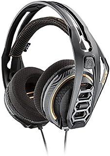 Plantronics Rig 400 - Auricular para PC, Color Negro