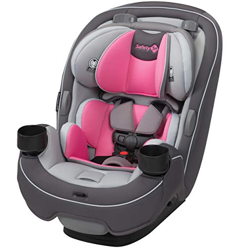Safety 1st Grow and Go All-in-One Convertible Car Seat, Carbon Rose